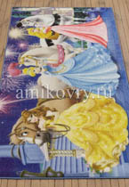 ковер Disney Princess D3PR005-blue в перспективе