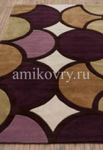 ковер Harlequin HA10-006 Bubble Purple Green в перспективе