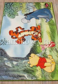турецкий детский ковер Disney Winnie the Pooh D3WP003-green