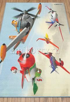 турецкий детский ковер Disney Planes D3PL001-mix