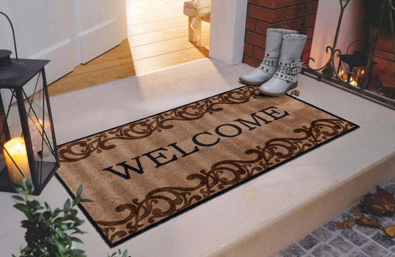 Придверный коврик из полиамида Empire Baroque welcome Small