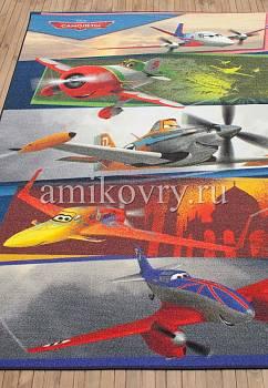 турецкий детский ковер Disney Planes D3PL005-mix