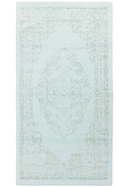 дизайн коврика Bath-Cotton_Rayon-PF-04-Blue