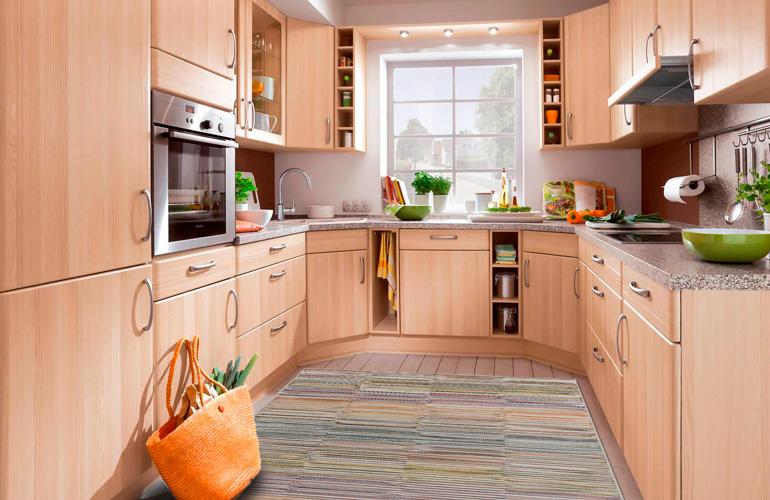Разноцветная циновка на кухню Hampshire RH1100-R234