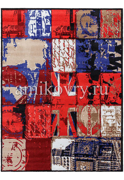 ковер в прихожую Empire London-patchwork-m-L Large