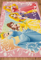 ковер Disney Princess D3PR002-pink в перспективе