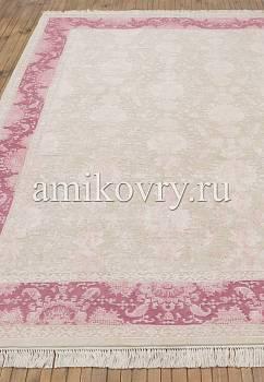 классический ковер ручной работы Numan Z-3-Ivory/Pink