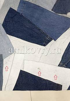 дефект ковра Jeans Pocket Rug Jacket-Natural discount1