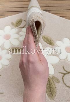 фактура коврика для ванной Confetti bath Margherita 01 Beige