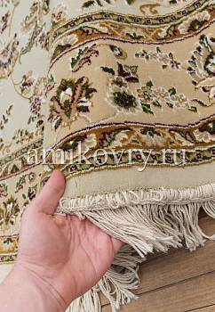 фактура ковра Mashad acril Brilliant Tabriz 8.75145-cream