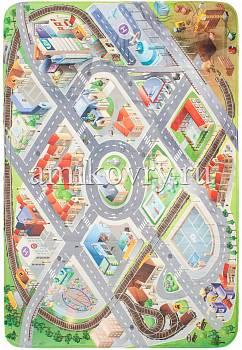 дизайн игрового коврика House of Kids District