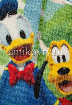 фрагмент ковра Disney Mickey Mouse D3MC003-green