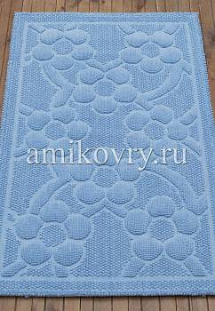 коврик для ванной в перспективе Sonil Cotton SCTN 01-Blue