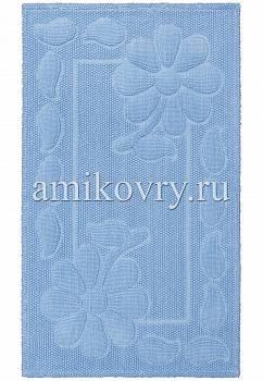дизайн коврика для ванной Sonil Cotton SCTN 10-Blue