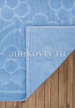 основа коврика для ванной Sonil Cotton SCTN 01-Blue