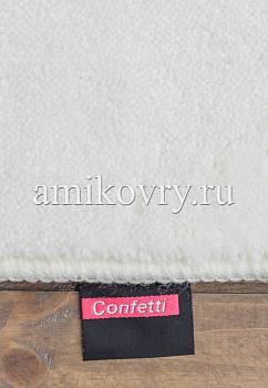 фрагмент коврика для ванной Confetti bath Margherita 02 White
