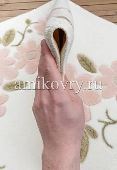 фактура коврика для ванной Confetti bath Margherita 02 White