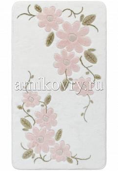 дизайн коврика для ванной Confetti bath Margherita 02 White