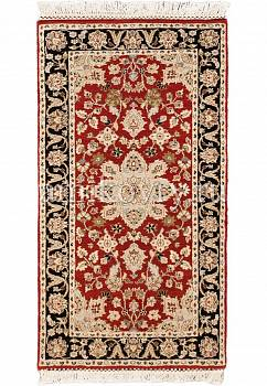 дизайн ковра Kashan wool 10/14 JB-1405-Red/Ebony