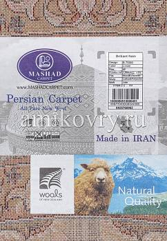 фрагмент ковра Mashad wool Brilliant Nain 5.75303-cream
