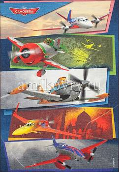дизайн ковра Disney Planes D3PL005-mix