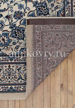 основа ковра Mashad wool Brilliant Nain B.75305-white