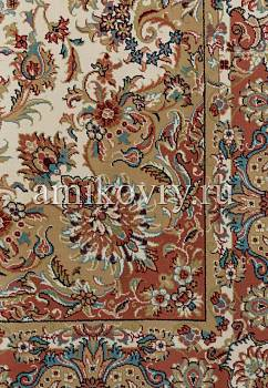 фрагмент ковра Mashad acril Super Tabriz 1.75492-cream