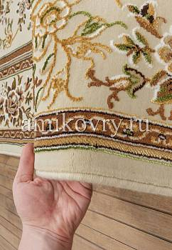 фактура ковра Mashad acril Brilliant Tabriz 8.75256-cream