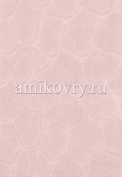 фрагмент коврика для ванной Cotton Tas Desen-Pink