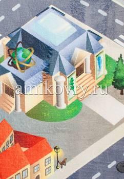 фрагмент игрового коврика House of Kids District