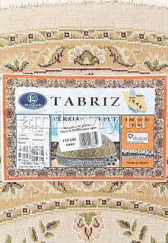 фрагмент ковра Mashad acril Brilliant Tabriz 8.75145-cream