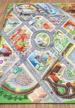 игровой коврик в перспективе House of Kids District