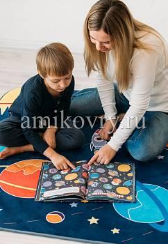 игровой коврик в интерьере Matlig 0334 Открытый космос
