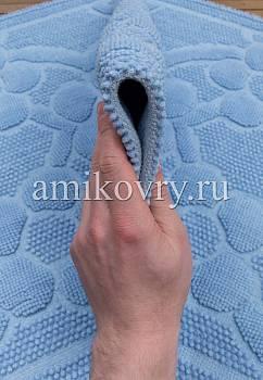 фактура коврика для ванной Sonil Cotton SCTN 01-Blue