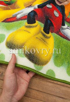 фактура ковра Disney Mickey Mouse D3MC003-green