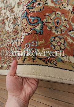 фактура ковра Mashad acril Super Tabriz 1.75492-cream