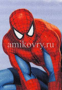 фрагмент ковра Disney Spider-Man D3SM001-blue