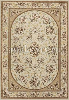 дизайн ковра Mashad acril Brilliant Tabriz 8.75256-cream