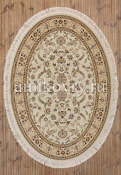 дизайн ковра Mashad acril Brilliant Tabriz 8.75145-cream