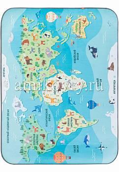 дизайн ковра Matlig 0332 Карта мира