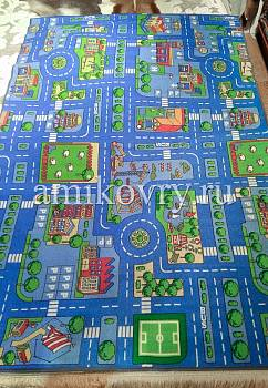 дизайн ковра Playmat Blue City discount4