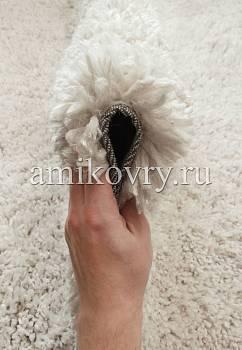 фактура ковра Cloudy no17-white