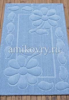 коврик для ванной в перспективе Sonil Cotton SCTN 10-Blue