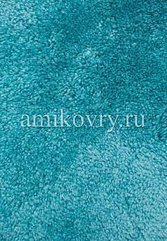 фрагмент коврика для ванной Confetti bath Miami 3516 Turquoise