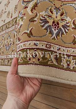 фактура ковра Mashad wool Brilliant Nain 4.75193-cream