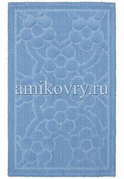 дизайн коврика для ванной Sonil Cotton SCTN 01-Blue