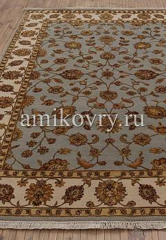 ковер в перспективе против ворса Kashan gold 10/10 WS-571-Light Blue-Ivory
