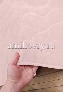 основа коврика для ванной Cotton Tas Desen-Pink